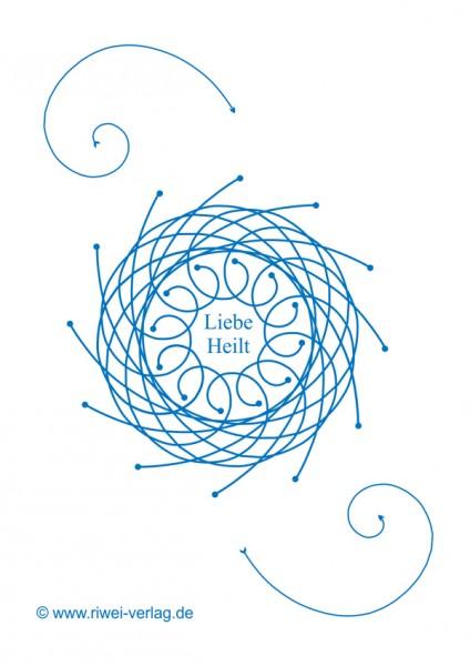 Symbolkarte -Liebe heilt- 10 Stück