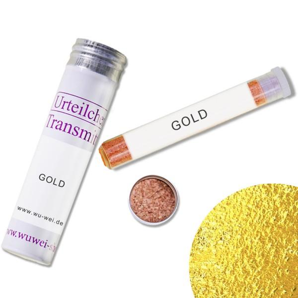 Urteilchen-Transmitter - Heilfarbe GOLD - Farbtransmitter